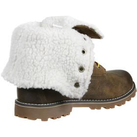 "Timberland Waterproof Shearling Boots 6"" Kids brown"